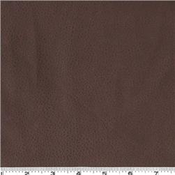 Faux Leather Fabric Pigskin Chocolate