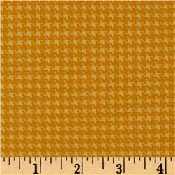 Designer Essentials Designer Houndstooth Yellow