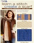 Leisure Arts &quot;Learn A Stitch Create A Scarf&quot; Book
