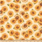 0285339 Harvest Medley Sunflowers Cream