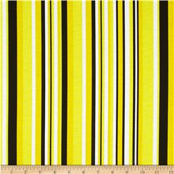 Graffiti Abstract Stripes Yellow/Black