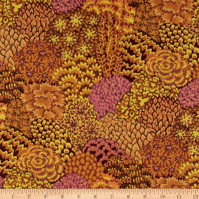 Kaffe Fassett Fall 2012 Collective Oriental Trees Brown