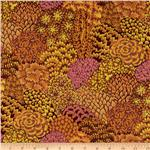 226233 Kaffe Fassett Fall 2012 Collective Oriental Trees Brown