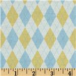 FJ-159 Baby Business Mini Argyle Yellow/Blue