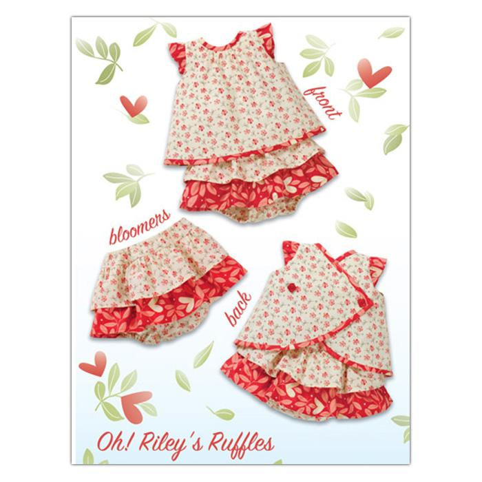 Kwik Sew Baby Oh Riley's Ruffles Dress & Bloomers (3901) Pattern