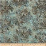 0271662 Bali Batiks Mums Light Teal