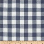 Michael Stars Designer Knit Plaid Blue/White