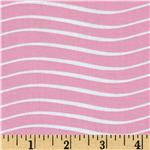 It's A Shore Thing Wavy Stripe Pink
