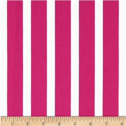 Let's Play Dolls Stripes Hot Pink