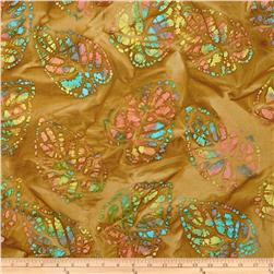 Indian Batik Clover Gold