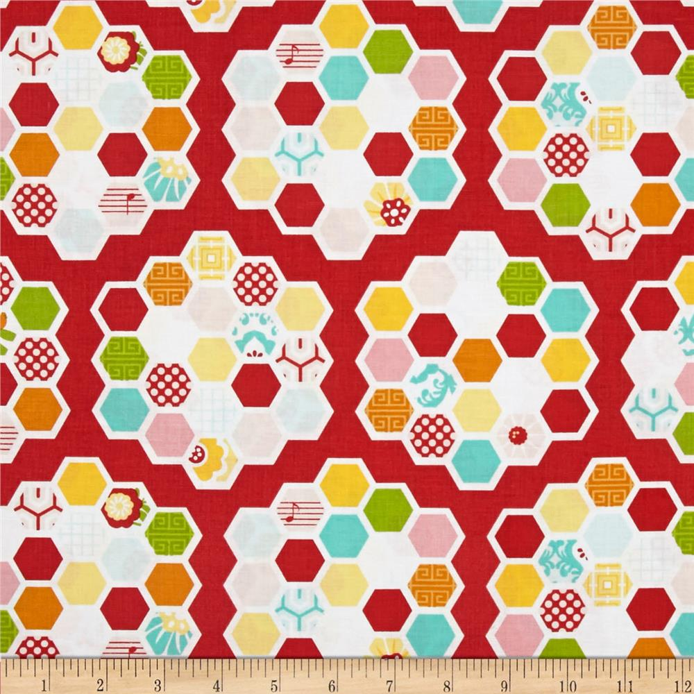 Riley Blake Simply Sweet Quilt Red
