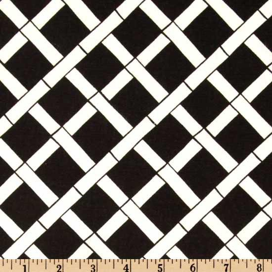 Premier Prints Cadence Black/White