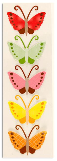Martha Stewart  Crafts Butterfly Pattern Stickers