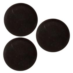 Fashion Button 5/8'' Cumberland Black