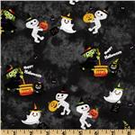 FS-653 Trick or Treat Happy Halloween Black