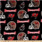 CK-158 NFL Fleece Tampa Bay Buccaneers Black/Red