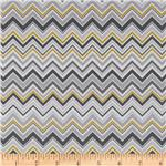 Valori Wells Novella Cotton Sateen ZigZag Stone