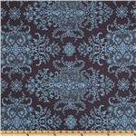 Amy Butler Home Dcor Soul Blossoms Twill Bliss English Garden Bluestone