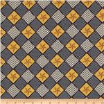 0267678 Uncle Sam Stars Patchwork Blue