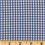 Woven 1/8&#39;&#39; Carolina Gingham Royal