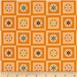Winterkist Circles &amp; Squares Orange Sherbet