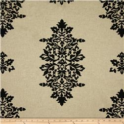 Bella Damask Black/Natural