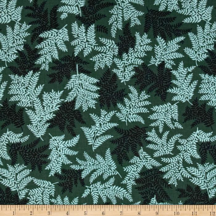 Mountain Majesty Fern Dark Teal