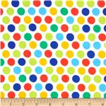 0290406 Michael Miller Diddly Dot Retro Primary