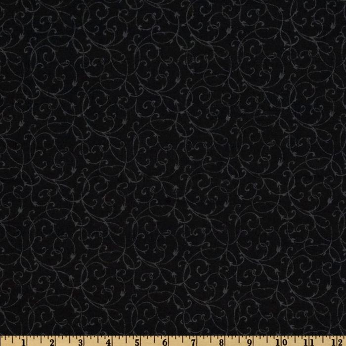 Spice Market Flannel Flourish Black