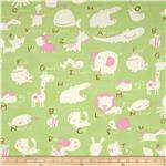 0277340 Baby Talk Animal Alphabet Green