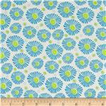 0281016 Moda Snap Pop Spike Flowers Cloud/Rain