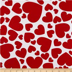 Jessie Steele Collection Hearts White