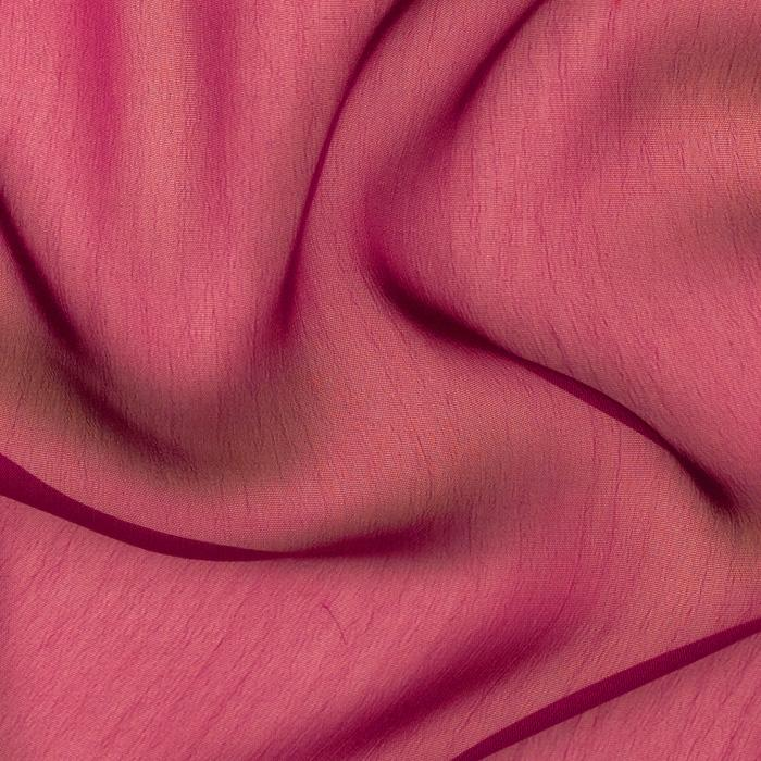 Two Tone Chiffon Dark Fuschia
