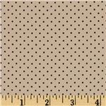 0291499 Boutique Crepe de Chine Mini Dots Beige/Black