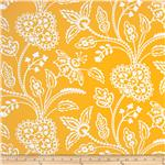 212635 Garden Party Garden Floral Tonal Yellow