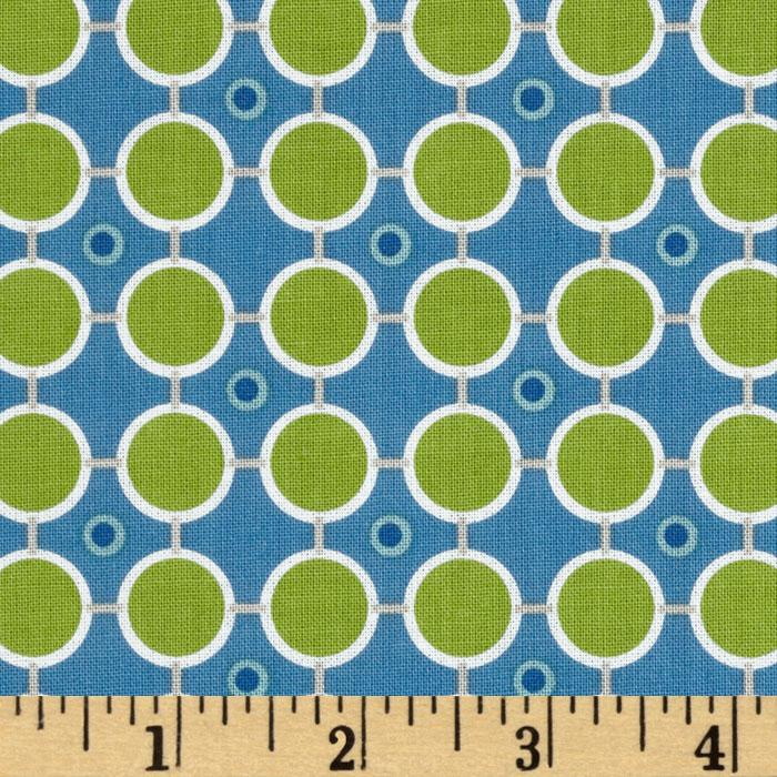 Millie&#39;s Closet Circle Dot Green