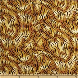 Tigers Animal Print Brown/Yellow