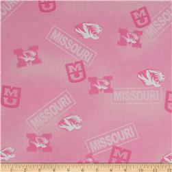 Collegiate Cotton Broadcloth Missouri Pink