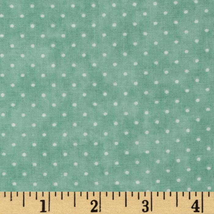 Moda Essential Dots (# 8654-22) Aqua