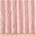 Minky Velvet Plush Cuddle Light Pink