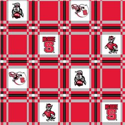 Collegiate Tailgate Vinyl Tablecloth North Carolina State University