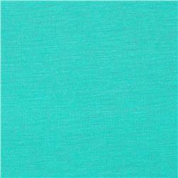 Stretch Rayon Jersey Knit Aqua