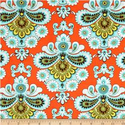 Amy Butler Belle French Wallpaper Orange