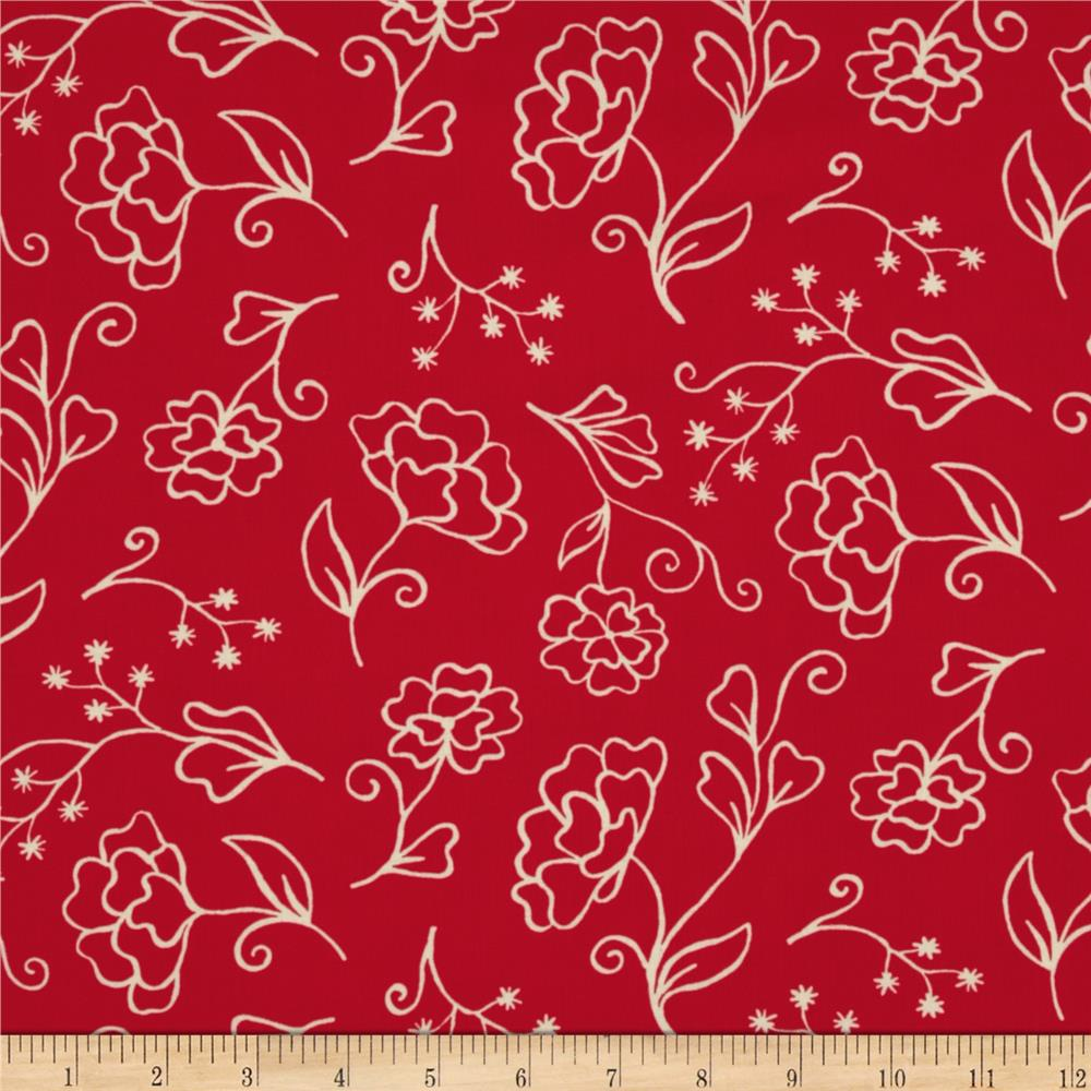 Summer House Flower Red