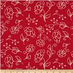 0272381 Summer House Flower Red
