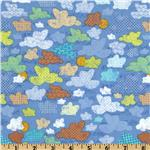 239751 Little Monkey Cloudy Day Blue