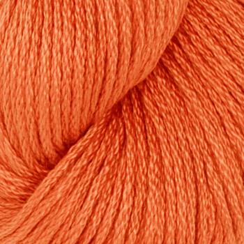 Tahki Cotton Classic Yarn (3486) Neon Orange