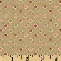 Button Tree Lane Buttons Pink