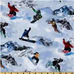 Winter Sports Snowboarding White