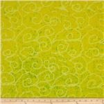 0269778 Indian Batik Swirl Yellow